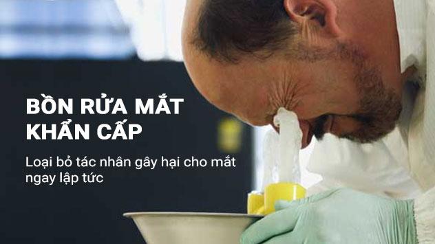 Nhà cung cấp vòi tắm khẩn cấp, bồn rửa mắt Hồng Lam