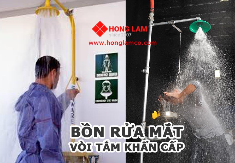 Bồn Rửa Mắt Khẩn Cấp - Thiết bị bảo hộ lao động│HongLamCo
