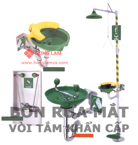 Kiểm tra bồn rửa mắt khẩn cấp : Cách sử dụng máy đo│Hồng Lam Co.LTD