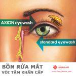 Hãy rửa mắt như những chuyên gia y tế - Bồn Rửa Mắt Khẩn Cấp
