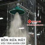 Vòi sen tắm khẩn cấp : Áp suất phù hợp cho vòi sen an toàn