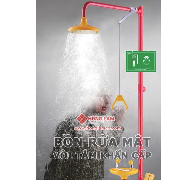 Quy tắc cần biết sử dụng bồn rửa mắt và tắm khẩn cấp