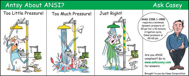 Sự phù hợp của thiết bị rửa khẩn cấp cho cơ sở của bạn