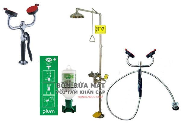 Tư vấn lắp đặt thiết bị rửa khẩn cấp tại nơi làm việc