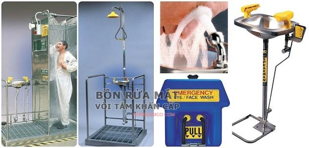 Địa chỉ cung cấp thiết bị rửa mắt khẩn cấp, lắp đặt và bảo hành