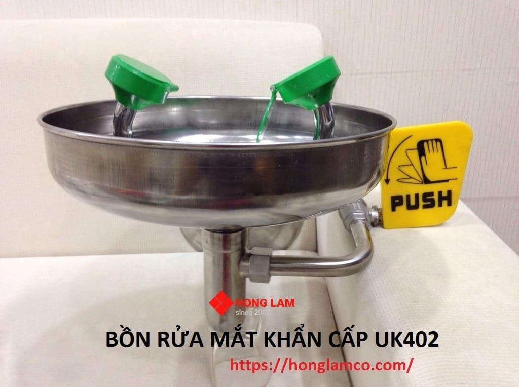 Bồn rửa mắt khẩn cấp uk402 nhập khẩu chính hãng - BH 12 tháng