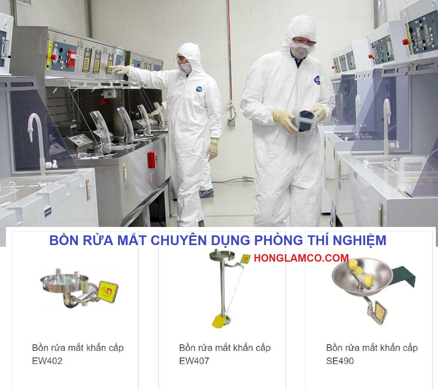 Vòi rửa mắt khẩn cấp trong phòng thí nghiệm - Lắp đặt nhanh, Giá tốt